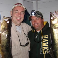 Walleye fishing at Ritchie's