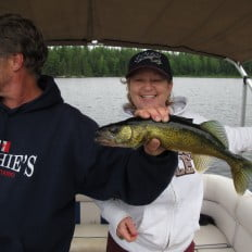 Great fishing at Ritchie's End of Trail