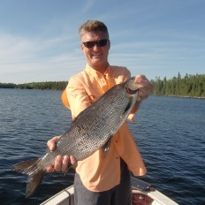 Whitefish fishing at Ritchie's