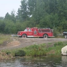 Biscotasing Fire Truck