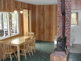 Lakeview Cabin Interior