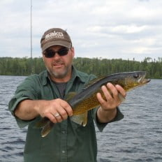 Large walleye catch