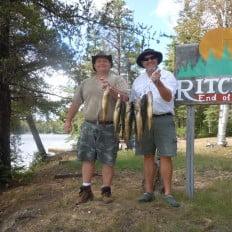 Great walleye fishing
