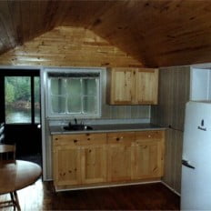 Sunrise Cabin Kitchen