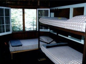 Cliff Sleeping Area