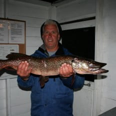 Don with big northern pike