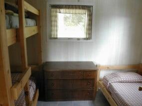 Sunset Cabin Bedroom